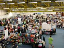 Part of the marketplace at Perth